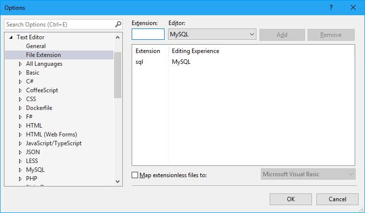 MySQL Editor for Visual Studio - Visual Studio Marketplace